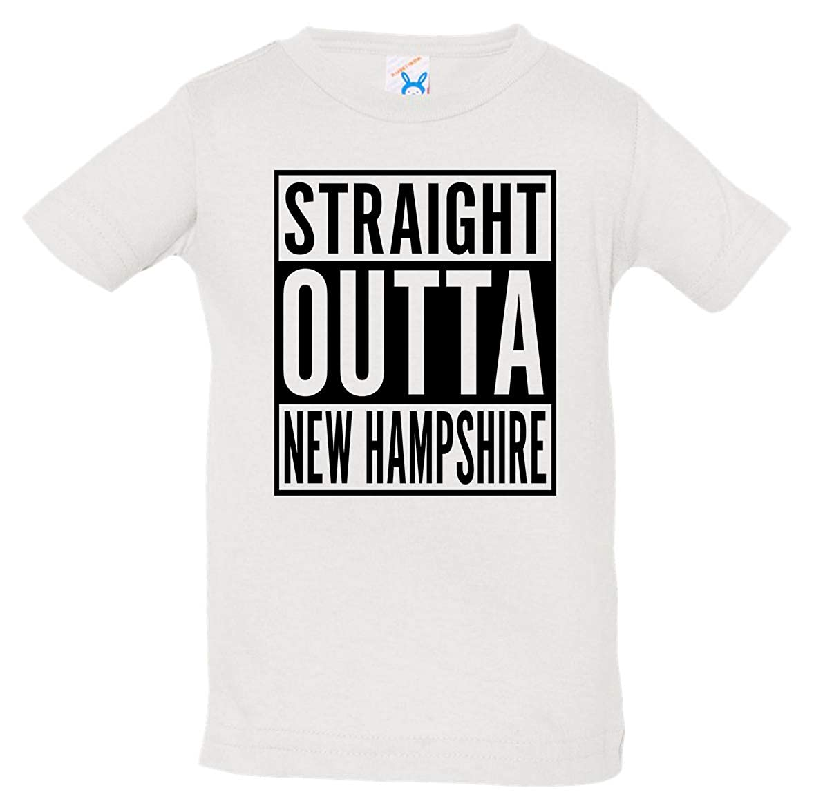Tenacitee Babys Straight Outta Hampshire Shirt