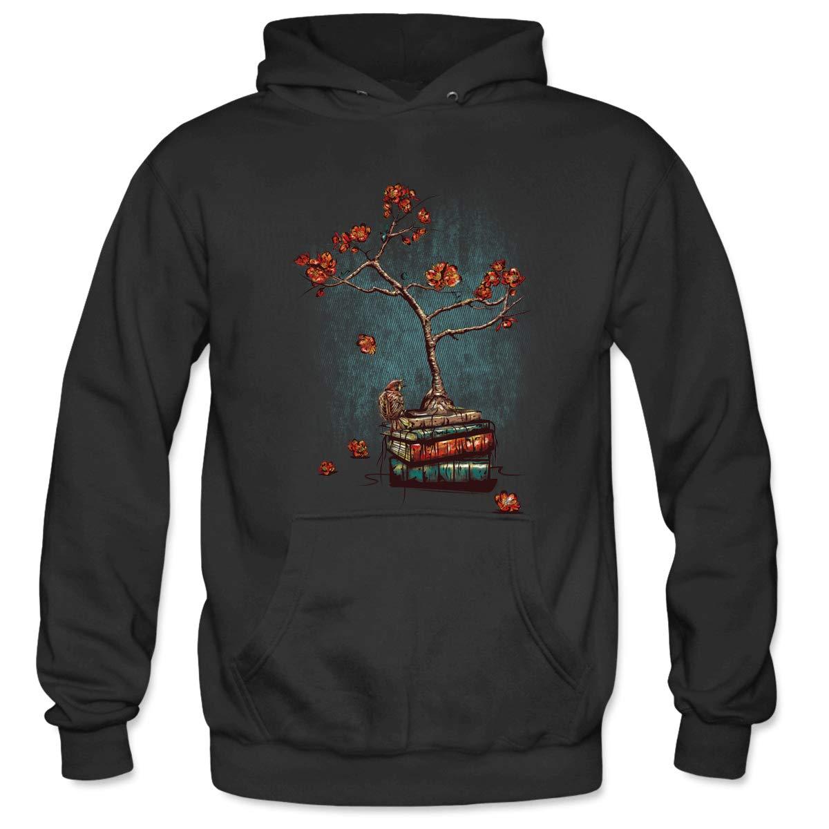 Mens Re Born Hooded Sweatshirt Funny Printed Pullover Hoodies Classic Long Sleeve T Shirt Tops
