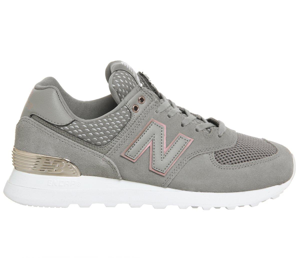 New Balance Wl574v2, Zapatillas para Mujer 36 EU|Gris