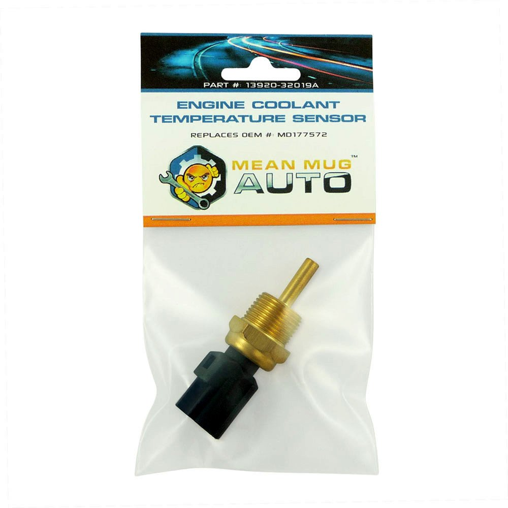 Mean Mug Auto 13920-32019A Engine Coolant Temperature Sensor - For: Mitsubishi, Chrysler, Dodge - Replaces OEM #: MD177572, MD182467, 1580487, 2132761, 3922035710 by Mean Mug Auto