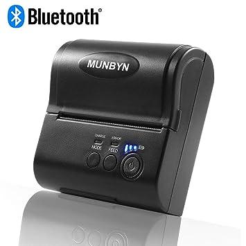 Impresora térmica Directa MUNBYN de 80 mm con Ethernet USB ...