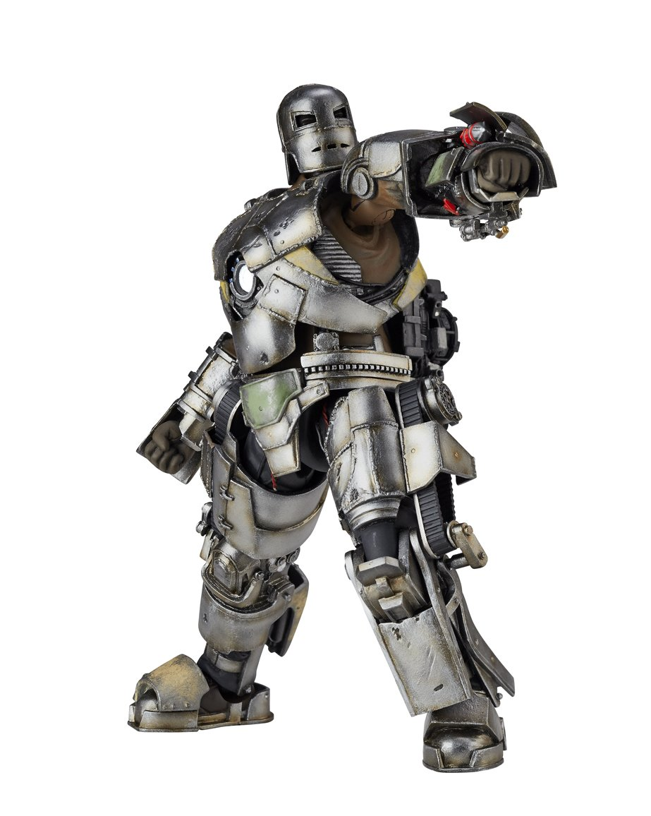 Animewild Marvel Iron Man Legacy of Revoltech Iron Man Mark I 6.3 Action Figure LR-023