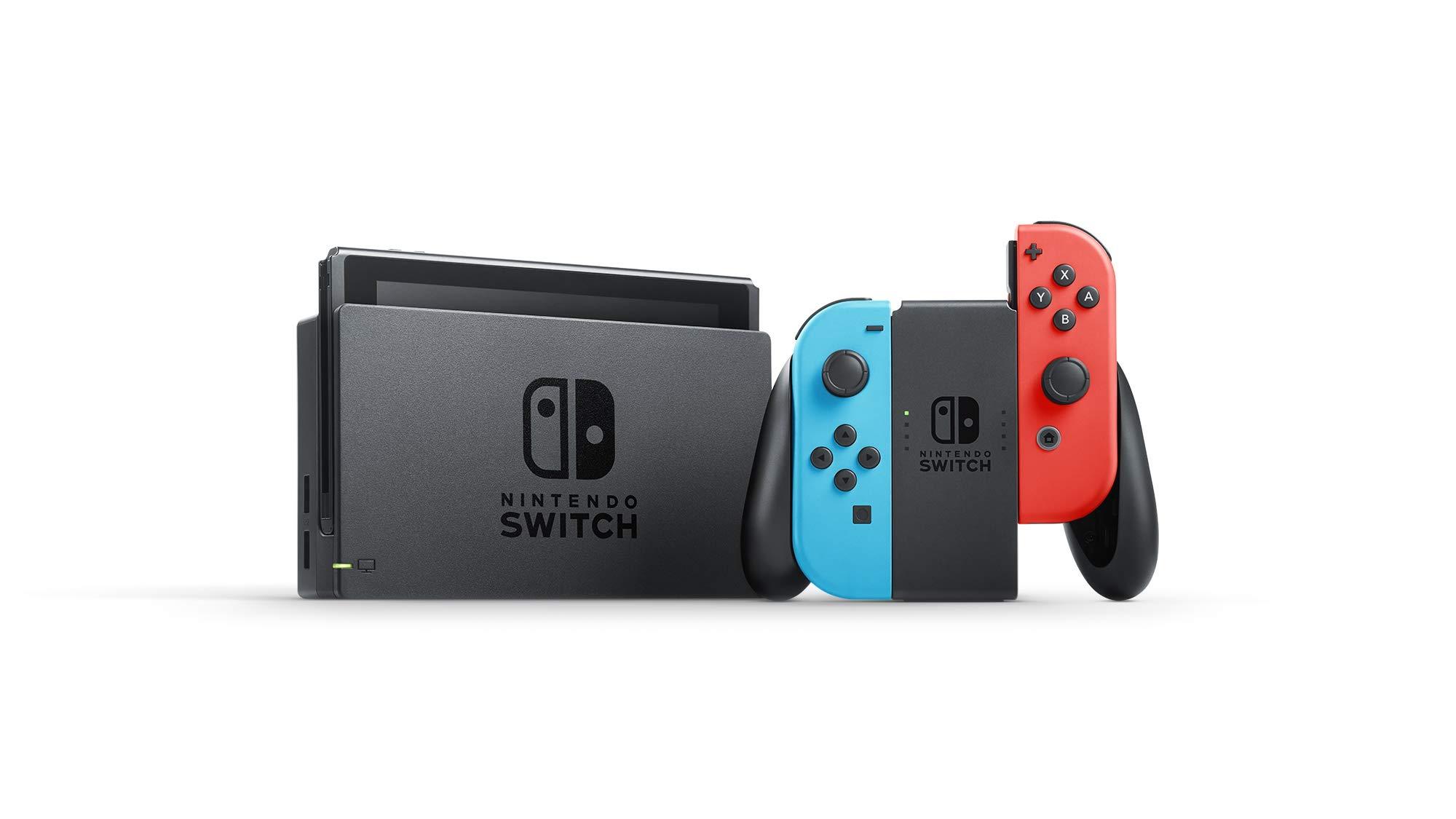 Nintendo Switch w/ Neon Blue & Neon Red Joy Con + $35 Nintendo eShop Credit Download Code - Nintendo Switch by Nintendo (Image #3)