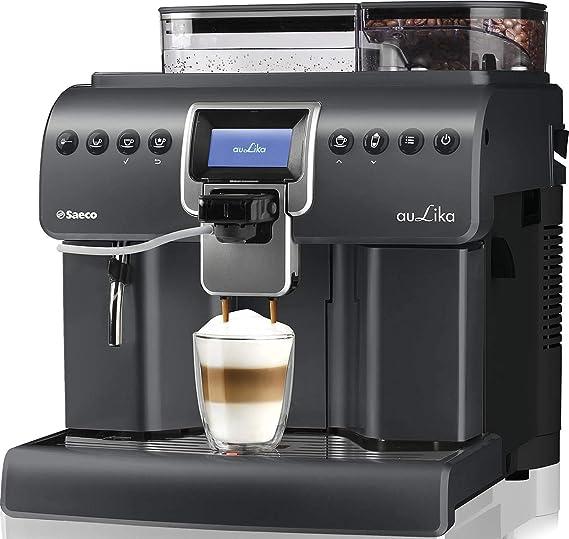 Saeco Aulika Focus Independiente - Cafetera (Independiente, Cafetera de filtro, 2,2 L, Molinillo integrado, 1400 W, Plata): Amazon.es: Hogar