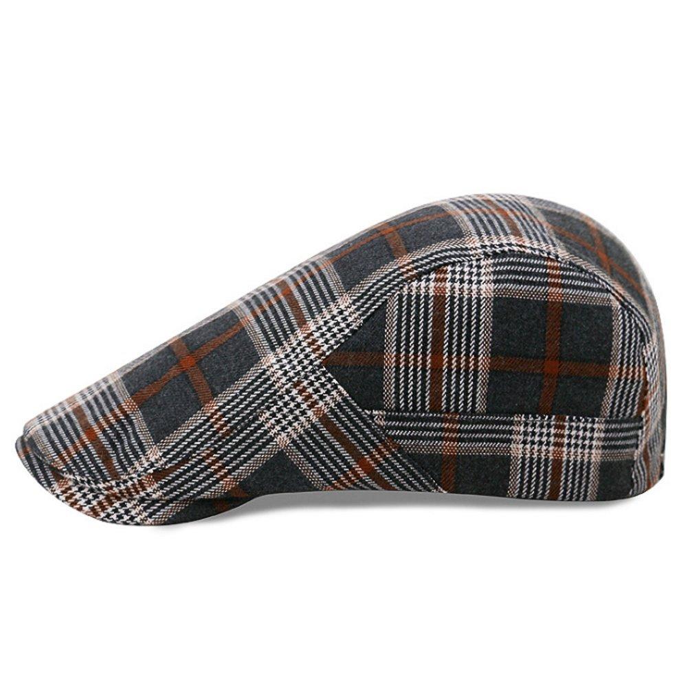 d8da15cc0 Ehoolpy Mens Flat Cap Outdoors Racing Hat Golf Caps Gents: Amazon ...