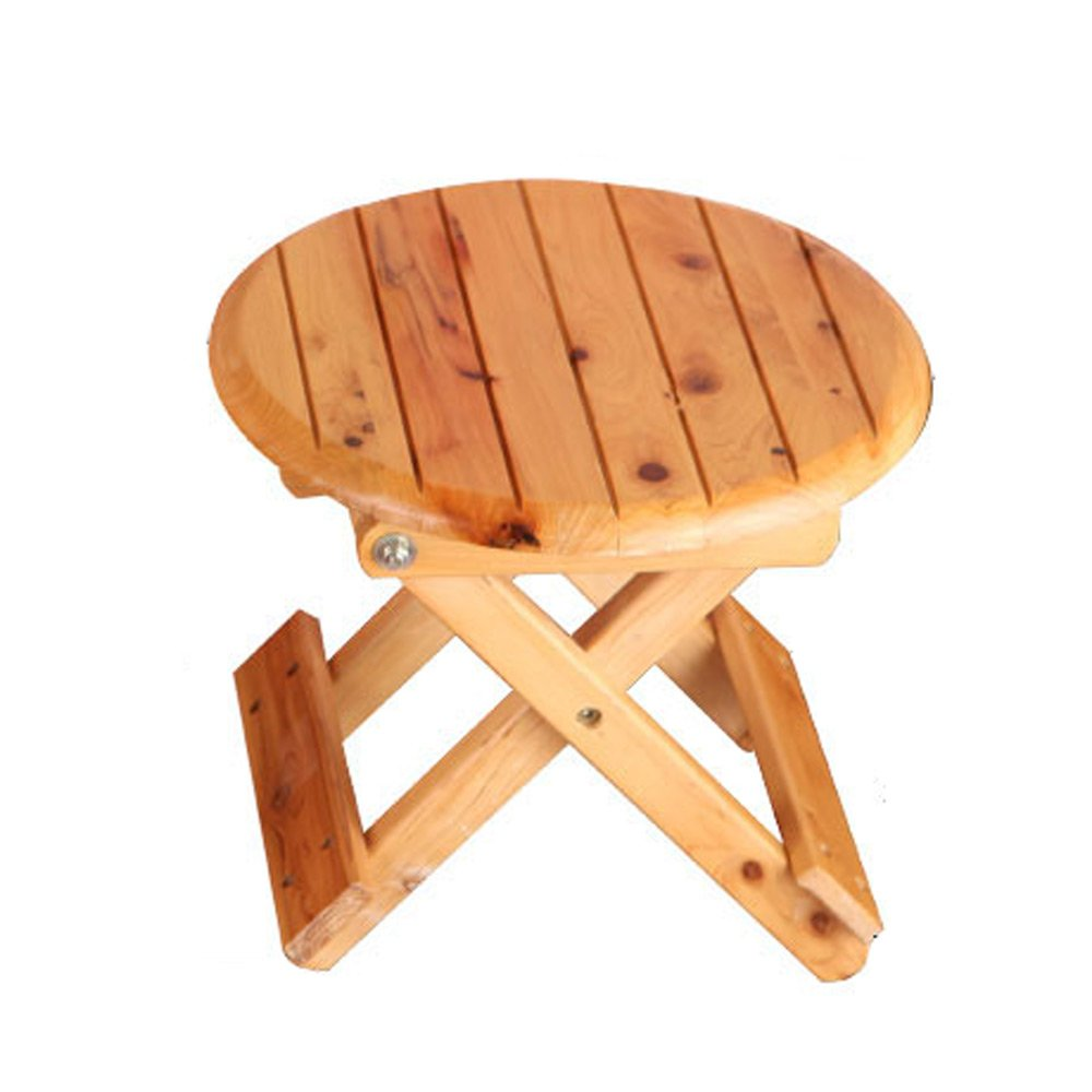 Folding Stool, Folding Small Bench, Solid Wood Stool, Non-plastic Stool, Fishing Stool, Children's Stool by PM-Folding Stools (Image #1)