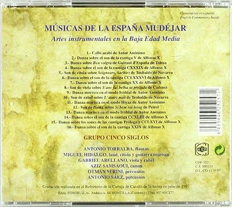 Musicas De La España Mudejar: Cinco Siglos: Amazon.es: Música