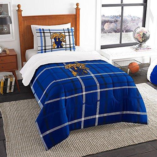 Northwest COL 835 Sham NOR-1COL835000020BBB 64 x 86 Kentucky Wildcats NCAA Twin Comforter Set, Soft & Cozy