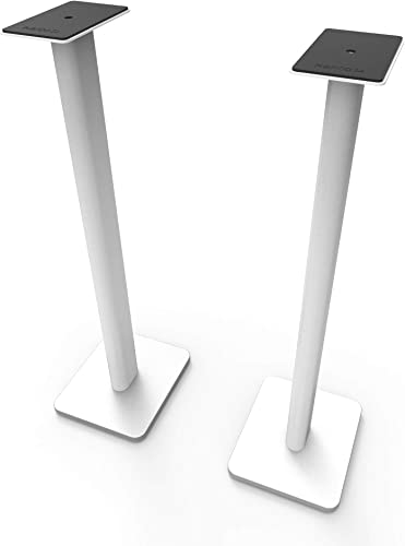 Kanto SP32PLW 32 Bookshelf Speaker Stands, White