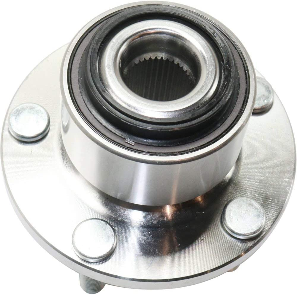 Wheel Hub and Bearing compatible with 2004-2011 Volvo S40 Rear Left or Right FWD With ABS Sensor and Wheel Studs