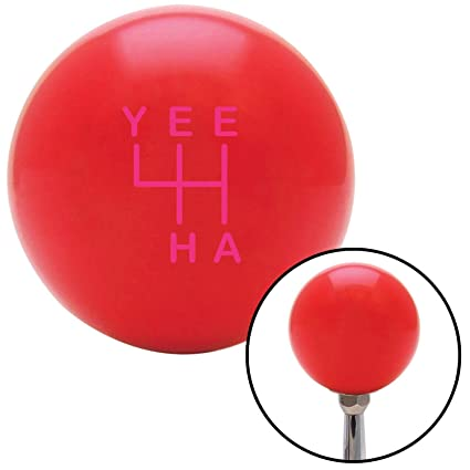 American Shifter 297098 Shift Knob Orange Pow Mia Text Red Flame Metal Flake with M16 x 1.5 Insert