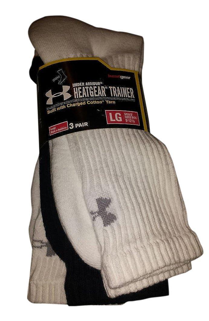 UA Crew Socks Large 9-12.5