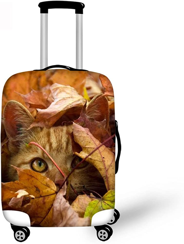 Funny Dog Pattern Luggage Protector Suitcase Covers for 18-30 Inch Suitcase