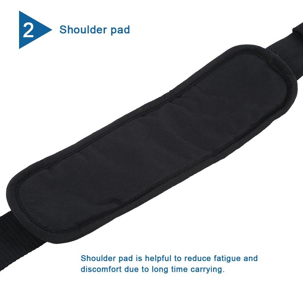 Vbestlife Kayak Carrying Strap Portable Surfboard Shoulder Strap Adjustable Nylon Canoe SUP Surfboard Strap Longboard Carry Belt by Vbestlife (Image #5)