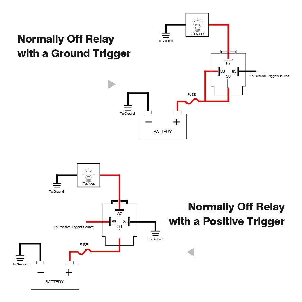 Sr 1914 Relay Schematic 12v - House Wiring Diagram Symbols •