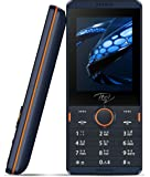 I TELL Dual-SIM Mobile Phone with 1000mAH Battery and 2.4 inch Screen (Dark blue)