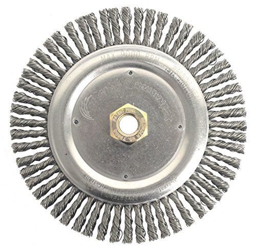 (Weiler 804-79800 Dually Stringer Bead Knot Wire Wheel, 7
