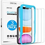 OMOTON [3 Pack] Tempered Glass Screen Protector Compatible with Apple iPhone 11 / iPhone XR, 6.1 inch - Tempered Glass…