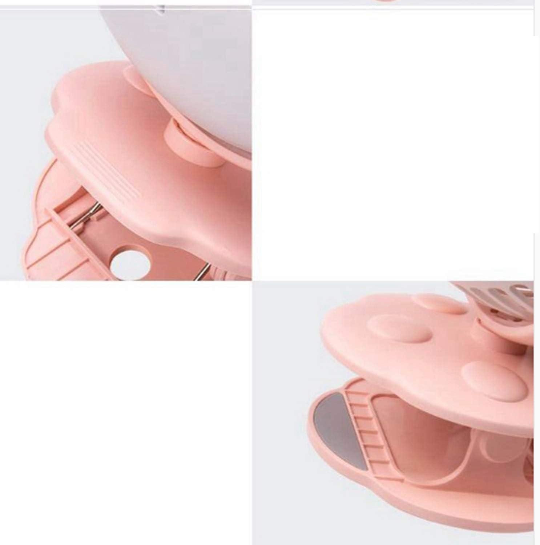 Color : Green XIAOF-FEN 3 Gear Speed USB Clip Fan Bear Portable Table Fan Rotatable Desktop Mini Fan Home Baby Stroller USB Fan