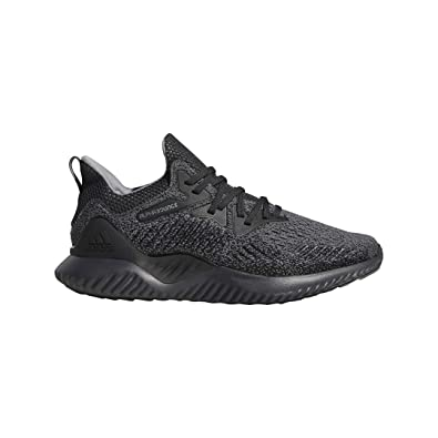 adidas Men's Alphabounce Beyond Running Shoe, Carbon/Grey/Black, 9.5 M US
