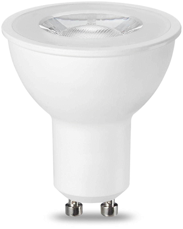 AmazonBasics Bombilla LED Foco GU10, 5.5W (equivalente a 50W ...