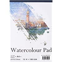 ZJchao Sketch Book Watercolor Paper, 2 Pack A4 A5 Artist Series Universal Sketch Pad Notepad for Painting Drawing Diary Creative Notebook 60 Sheets A4
