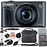 Canon PowerShot SX730 HS 20.3MP Digital Camera 40x Optical Zoom and Built-in WiFi/NFC (Advanced Bundle, Black)