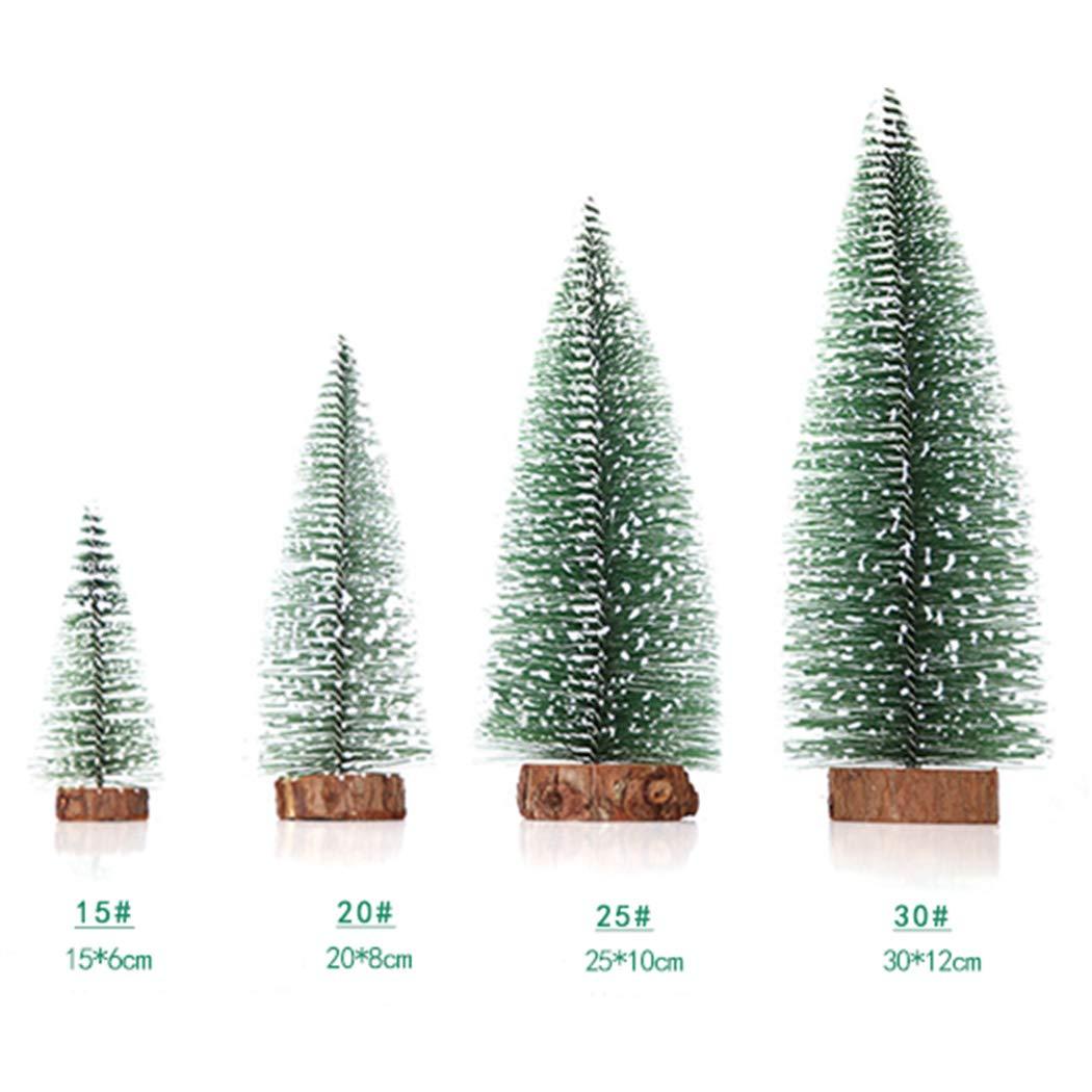 Roseni Mini Cedar Tree Christmas Decoration Desktop Window (20 cm)