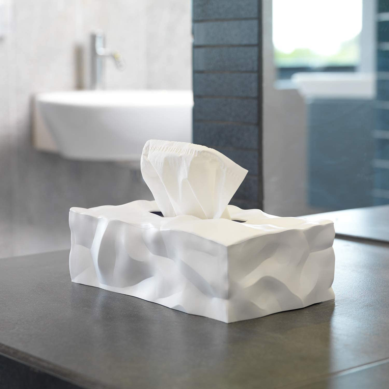 white tissue box Momo