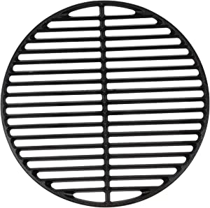KAMaster Cast Iron Cooking Grids Grates for Medium Big Green Egg Round Grill Grate (15