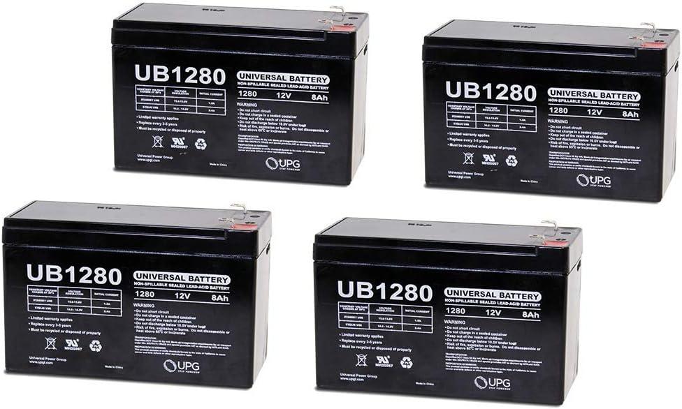 12V 8Ah Battery Replacement for Power Patrol SLA1079-4 Pack 61ebl6VDj4LSL1000_