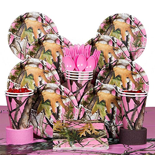 Costume Supercenter BBKIT229 Pink Camo Deluxe Kit -