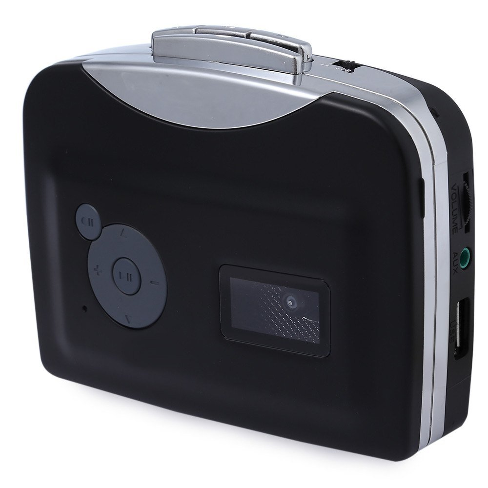 convertidor de Casete a MP3 SATKIT Ezcap 230 Reproductor de cassete