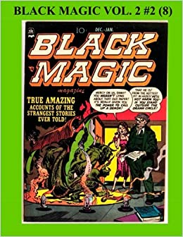 Black Magic Vol Golden Age Horror Comic Crestwood - 23 of the strangest books to ever appear on amazon