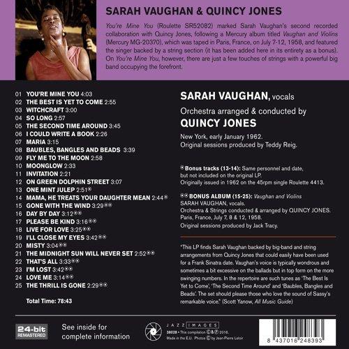 Sarah vaughan youre mine you amazon music stopboris Image collections