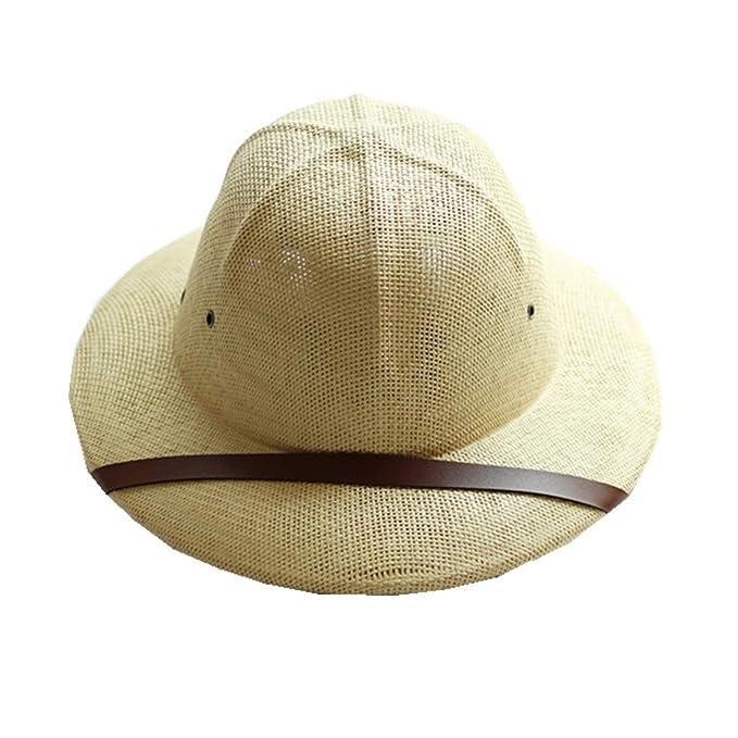 Amazon.com: 1 gorro de paja para casco de pitre, para hombre ...