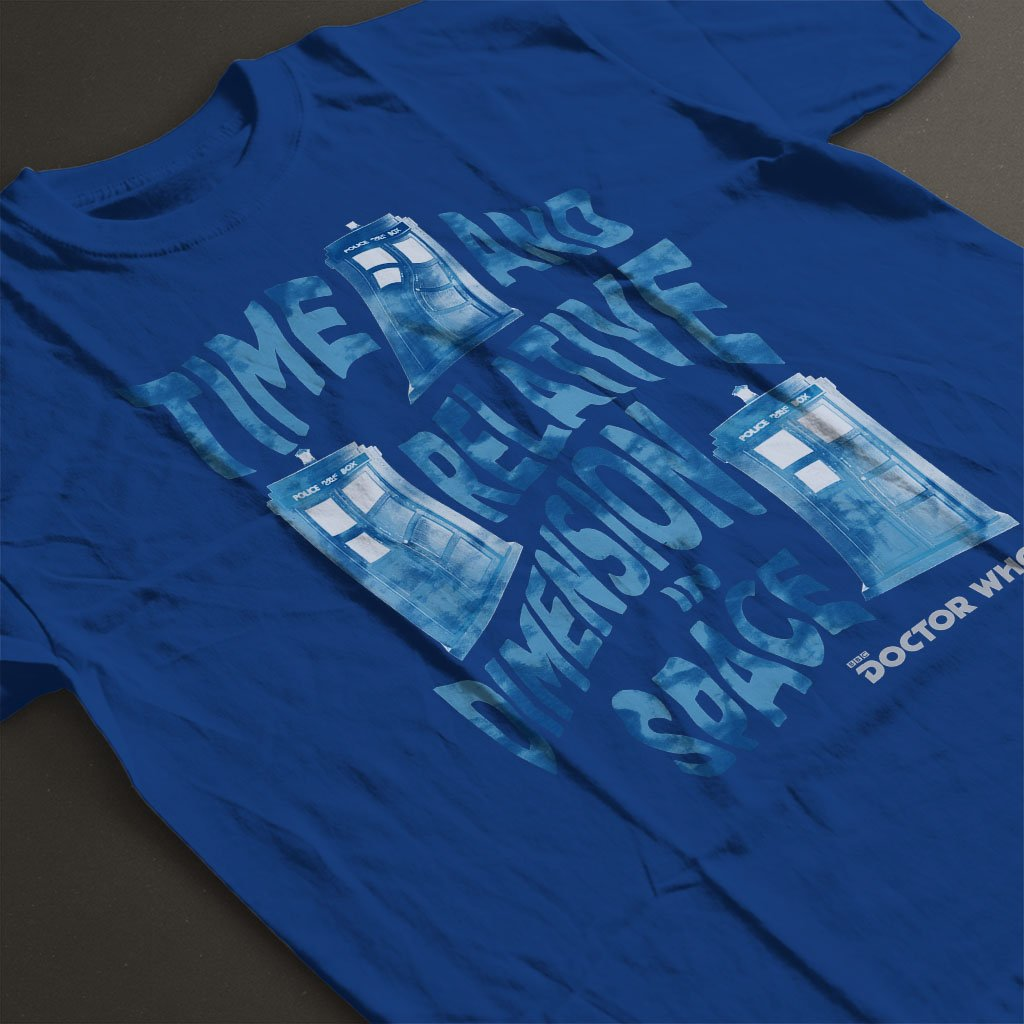 Doctor Who Warped Tardis Kids T-Shirt