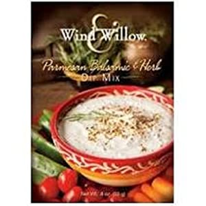 Wind & Willow Parmesan Balsamic & Herb Dip Mix Boxes, Pack of 2