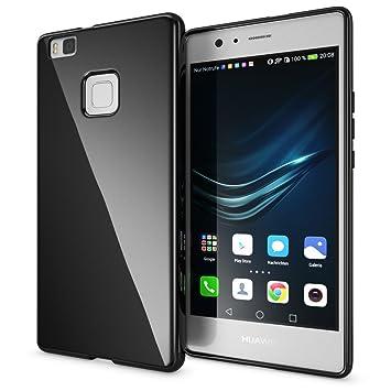 NALIA Funda Carcasa para Huawei P9 Lite, Protectora Movil TPU Silicona Ultra-Fina Gel Telefono Case, Cubierta Estuche Goma Bumper Cobertura Delgado ...