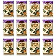 Annie Chun's Roasted Seaweed Snacks, Sesame, 0.35 Ounce (Pack of 12)