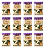 Annie Chun's Roasted Seaweed Snacks, Sesame, 0.35 Ounce (Pack of 12)