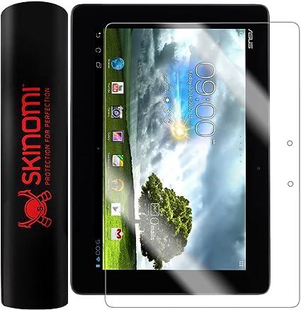 Skinomi Brushed Aluminum Skin+Clear Screen Protector For Asus ZenPad 3S 10