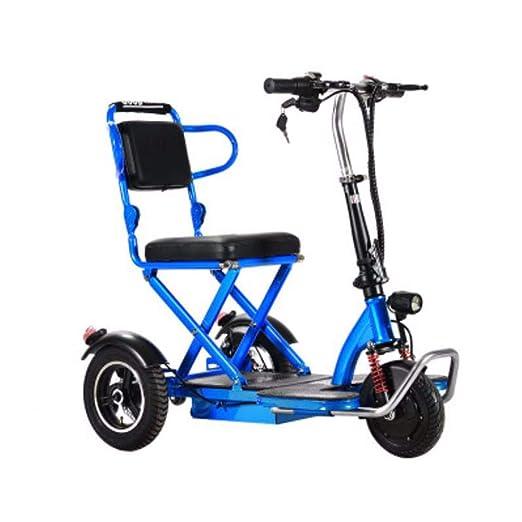 Quino Triciclo eléctrico Plegable Patinete para adultos ...
