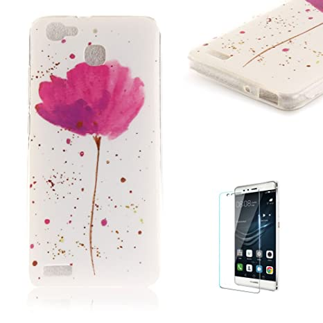 custodia per huawei p8 lite smart cover silicone morbida
