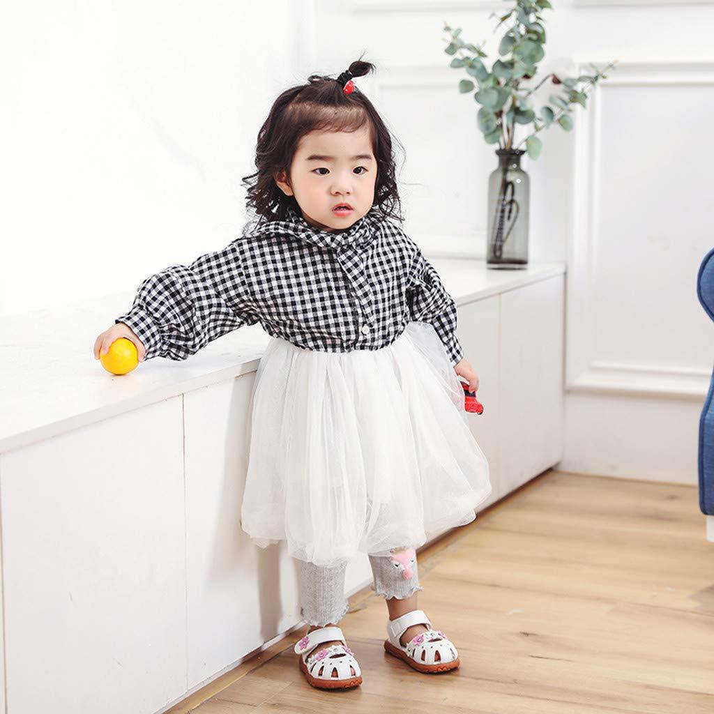 Staresen Filles Enfants Fleur D/éT/é Sandales Rome Chaussures Princesse Rose Toddler Kids B/éB/é Garcon Mariage Plastique Scratch Ete Kickers Romaine Chaussures pour Enfants Les Danses Sportives