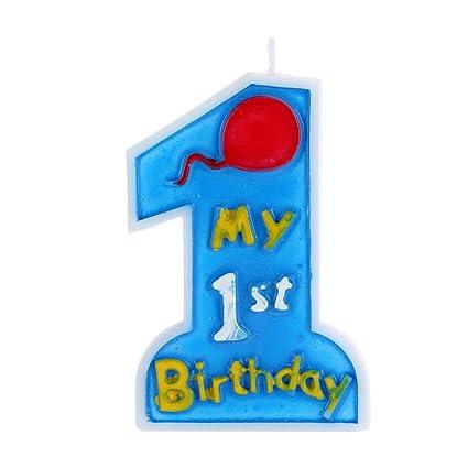 Anself - Mi 1st tarta de cumpleaños vela niños primero ...