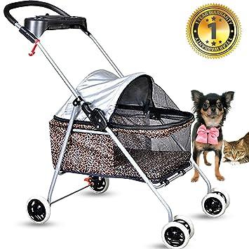 Amazon.com: Cochecito de perro para mascotas, cochecito para ...