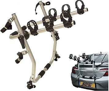 UKB4C 3 Cycle Carrier Rear Tailgate Boot Bike Rack fits Mokka