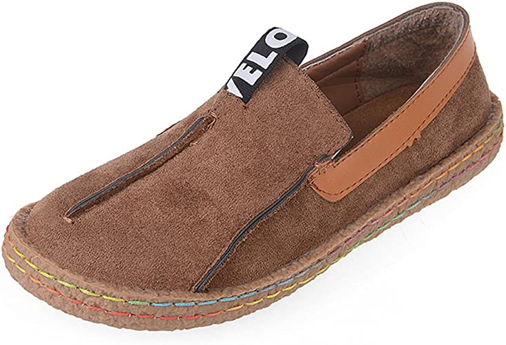 chaussure cuir conduite femme