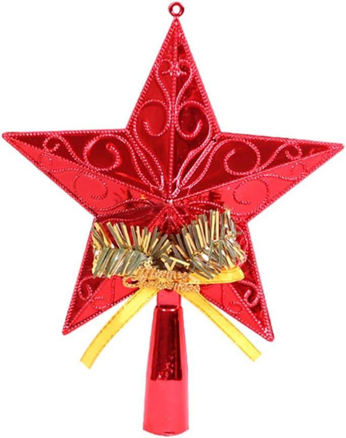 Samseed /Étoile de Sapin de No/ël en Forme d/étoile